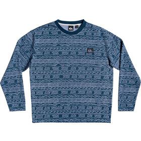 Quiksilver Heritage Printed T-shirt Col ras-du-cou Homme, stonewash tonal heritage